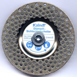 Disque affutage perforé aux diamants KAINDL
