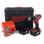 Perceuse visseuse batterie 18V 4Ah – 13 mm MILWAUKEE