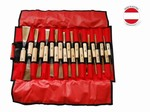 Trousse de 20 gouges de sculpture stubai